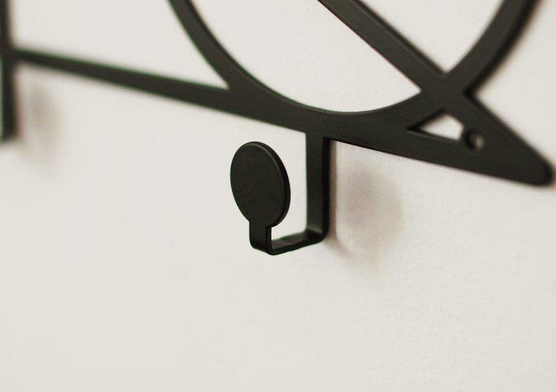 Ganchos de ferro para pendurar roupas